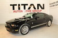 2012 Ford Mustang Auto, Leathers, Alloys, Black, 20,000kms, PST