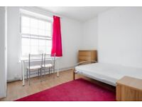 Large 3 bedroom flat with no lounge in SE1 Zone 1 Elephant and Castle.