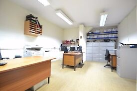 Office To Let: Sunbury Village: Utility & Business rates inc. WC, Kitchenettte, Air Con.