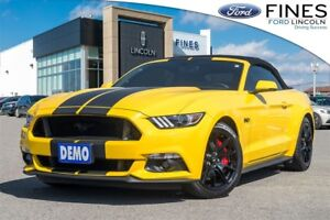 2017 Ford Mustang GT Premium - DEMO, STRIPES, EXHAUST, TINT