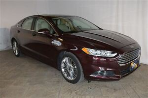 2013 Ford Fusion SE 2.0 ECOBOOST, LEATHER, NAV, SUNROOF
