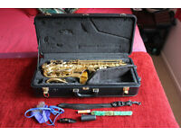 Yanagisawa A991 alto saxophone, very good condition