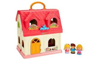 NEW Fisher-Price Little People Surprise & Sounds Home