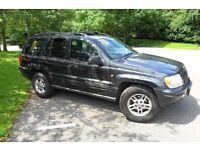 """"""" JEEP """" grand cherokee ltd. 4.7cc , breaking for parts , yr 99--05"""