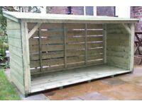 log sheds
