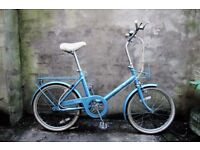 RALEIGH SAPPHIRE, vintage shopper bike, 3 speed