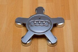 Audi wheel center caps