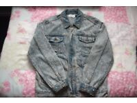 Topman Mens denim jacket Size M
