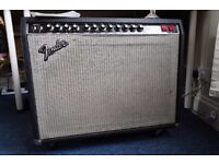 1983 Fender Twin Reverb II Vintage Combo Guitar Amp