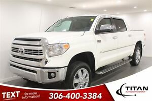 2014 Toyota Tundra Platinum/1794 Edition|Leather|White|Nav
