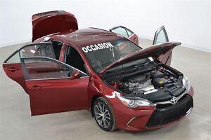 2015 Toyota Camry XSE GPS+Cuir/Tissus+Camera de Recul+Demarreur