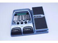 DigiTech BP200 bass modeling processor. Bass Guitar effects pedal.