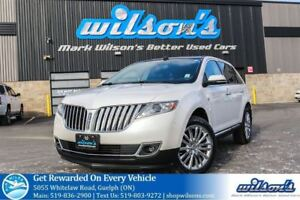2013 Lincoln MKX AWD! LEATHER! NAV! PANO SUNROOF! BLIND SPOT MON