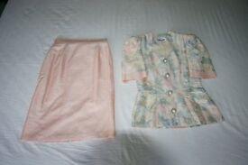Hamells Ladies 2 piece Outfit Pastel Shades