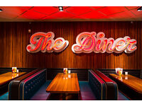The Diner is Hiring: Assistant Managers