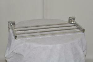 TABLETTES  A SERVIETTES - STAINLESS - TOWEL RACKS