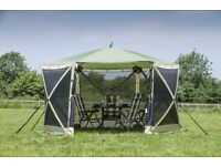 Quest Elite Instant Spring Up Screen House 6 pop up awning/gazebo
