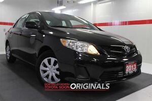 2013 Toyota Corolla CE Btooth USB AUX Pwr Mirrs Doors ABS A/C