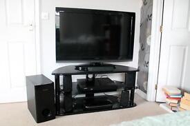 ToshibaTV and Samsung Surround Sound Blu-Ray player with a Humax Free Sat box