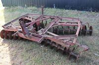 8 ft. 3 point hitch Disc Harrows