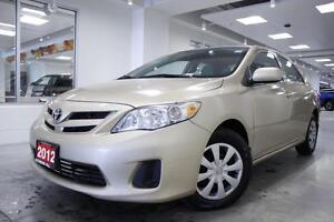 2012 Toyota Corolla CE, PWR GRP, ONE OWNER, NO ACCIDENT, FULL HI