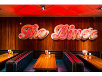 The Diner is hiring: Waiters and Waitresses!