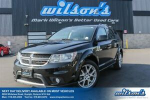 2016 Dodge Journey R/T AWD! 7-PASS! LEATHER! HEATED STEERING+SEA