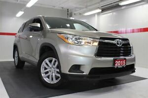 2015 Toyota Highlander LE BACKUP CAMERA ALLOY WHEELS TOYOTA CERT