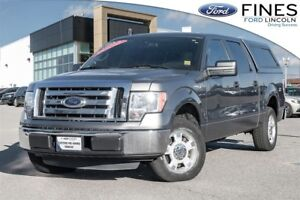 2012 Ford F-150 XLT - LEATHER, HEATED SEATS & CAP!