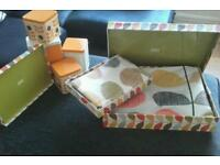 ORLA KIELY BEDDING AND CANNISTERS