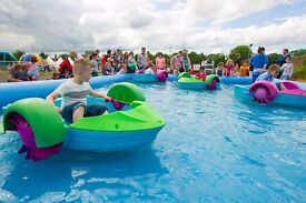 Paddle Boats and Pool, Bouncy Castle