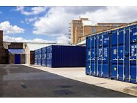STORE THAT!! NEW AND QUALITY 20' SEA CONTAINERS! 155 sqft!! *CANARY WHARF**ISLE OF DOGS**DOCKLANDS*