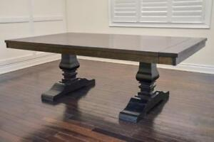 New! Modern Solid Wood Dining Tables & Dining Sets, Solid Maple, Oak, Cherry - Custom Sizing and Extensions