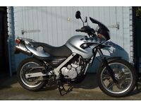 2005 BMW F650GS 04 SILVER low mileage, excellent condition