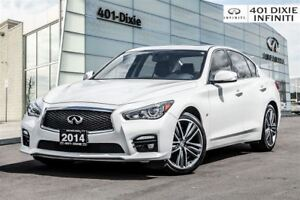 2014 Infiniti Q50 Sport! Navi! Backup Cam! Bose! Leather!