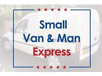 Small Van & Man from £10ph ★ Small Removals & Deliveries + Storage