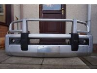 Used genuine Nissan Pathfinder R51 (Navara) alloy bull bar - F2200-EC000AU