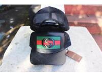 New original Gucci Green & Black baseball cap