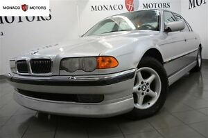 2000 BMW 7 Series 740iL LUXURY PKG SUNRF AC LEATHER