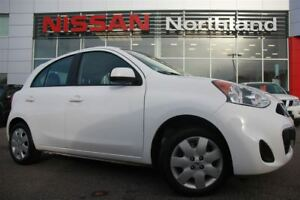 2016 Nissan Micra SV/Bluetooth/AUX/Traction Control