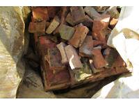 Free Hardcore ~ 1.5 tons clay brick and breeze block