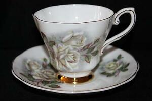 VINTAGE TEA CUPS & SAUCERS