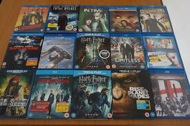 bag of top title blu Rays for sale £20
