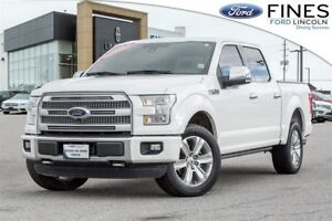 2016 Ford F-150 Platinum - FORD CERTIFIED RATES FROM 1.9%