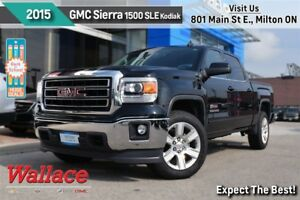 2015 GMC Sierra 1500 SLE/1-OWNER/CLN HSTRY/LOADED!/Z71 PKG/KODIA