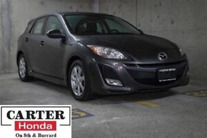 2011 Mazda MAZDA3 SPORT GS + LEATHER + SUNROOF + PWR SEATS + NO