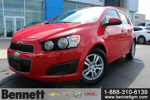 2015 Chevrolet Sonic LT - Auto, A/C, Power Windows + Locks, Grea