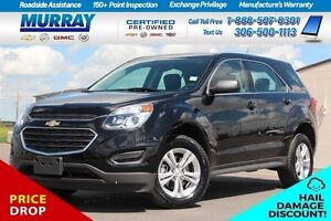 2016 Chevrolet Equinox LS*FINANCING AS LOW AS 0.9%*HAIL DAMAGE