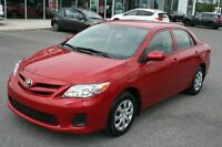 2013 Toyota Corolla **AIR/BLUETOOTH** SEULEMENT 39 402KM**