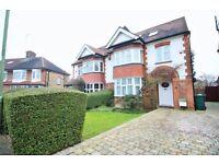 **4 bedroom FAMILY HOUSE with big drive&garden in catchment of excellent schools!Av NOW!!**